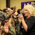 Prophetess Roark operating under the power of the Holy Ghost!